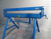BÁDOGOS ÉLHAJLÍTÓ gép 1400/1,2 mm Hajlítógép Élhajlítógép