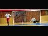 I. nemzetközi jótékonysági futballgála a pécsi városi sportcsarnokban