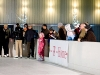 Megnyitott a jégpálya a pécsi Zsolnay Negyedben, a Pirogránit Udvaron