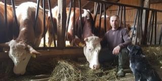 Igazi tejet akart inni, aztán lett egy farmjuk: a munkában találta meg a hobbiját Maul Antal