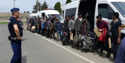 Negyvenhárom migránst tartóztattak fel a határvédők Kölked és Kislippó térségében