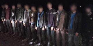 Éjszakai őrjárat: tizenegy migránst tartóztattak fel Sátorhely közelében a határvédők