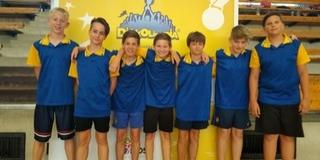 Harmadik lett a diákolimpián a Broda lábtoll-labda csapata