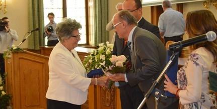 Egészséges Baranyáért díjat kapott dr. Szilas Judit
