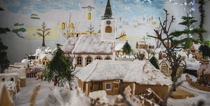 Megint jól kisütötték: kinyit a geresdlaki mézeskalács-falu