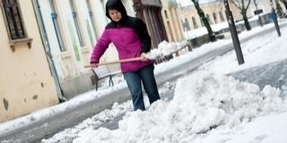 Baranyában szombaton estig kitart a havazás, majd havas eső hullhat