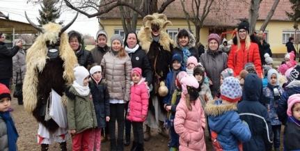 Kiskunmajsán űzte a telet a Vidák Busó Csoport