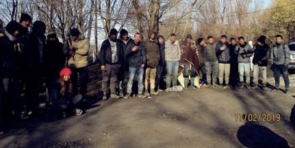Huszonöt migránst fogtak el a Mohácsi-szigeten vasárnap
