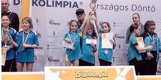 Megnyerték a széchenyis lányok a diákolimpia döntőjét