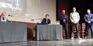 Színházi performanszt rendeztek a baranyai zsaruk