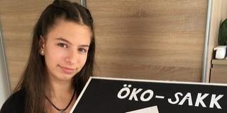 Szép Hanna első helyen végzett saját készítésű sakk-készletével egy országos versenyen