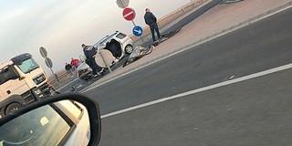 Kamionnal ütközött egy kocsi Babarc és Lánycsók között