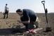 Ismét fémkeresőkkel vallatták a földet Majs, Sátorhely és Nagynyárád térségében