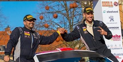 Elsőre nem volt rossz, Szauer Gergő és Rácz László az ötödik helyen zárta az Eger Rallye-t