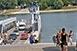 Tovább apad a Duna, két méter alá eshet a vízállás Mohácsnál jövő héten