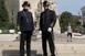 Pécsett, Mohácson és Komlón is láthatjuk dualista korabeli egyenruhában a rendőröket