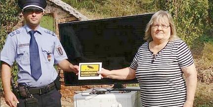 Visszavitték a mohácsi zsaruk a tulajnak a lopott szajrét