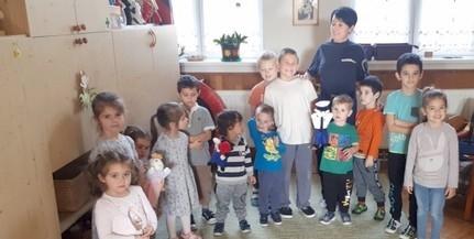 A sátorhelyi óvoda is csatlakozott az Ovi-Zsaru programhoz