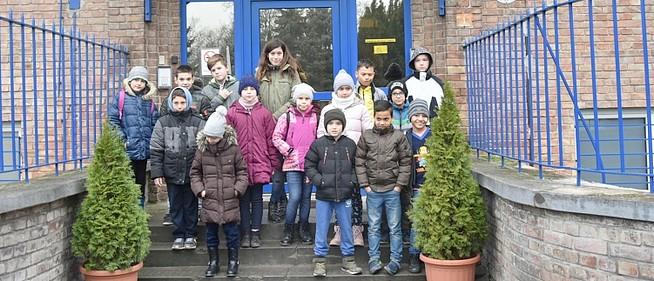 A rendőrségen vendégeskedtek mohácsi kisdiákok - Az előállító helyiség nem jött be