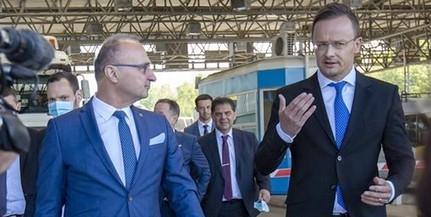 Határátkelő nyílik Sároknál, az M6-os autópályáról is egyeztetett Szijjártó a horvátokkal