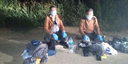 Migránsokat tartóztattak fel éjszaka Töttös térségében