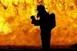 Lángol egy családi ház Mohácson, a Farkas utcában
