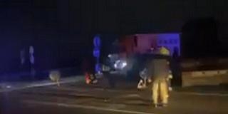 Halálos baleset történt éjjel az 57-es főúton, Babarc közelében