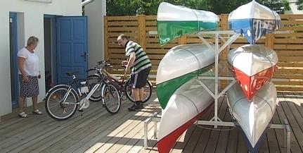 Féláron kölcsönözhetünk bringát Mohácson a hosszú hétvégén