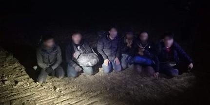 Majs térségében tartóztattak fel migránsokat a határvédők