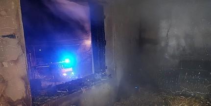 Babarci háztűzhöz riasztották a mohácsi tűzoltókat