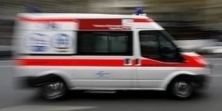 Felborult egy autó Somberek határában
