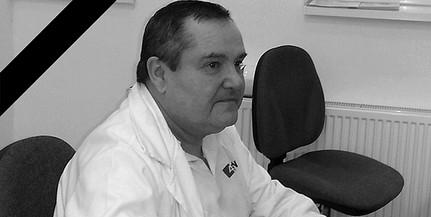 A koronavírus áldozata lett a Mohácsi Kórház radiológus főorvosa, dr. Pintér Attila