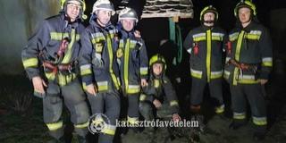 Tizenkét méter mély kútból mentettek ki egy kutyát a mohácsi tűzoltók