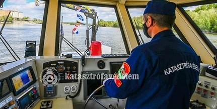 Csúcsteljesítményű járőrhajót állítottak szolgálatba a Dunán Mohácsnál