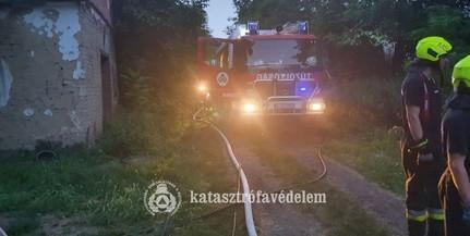 Kisnyárádi tűzhöz vonultak a mohácsi tűzoltók