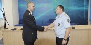 Megkapta kinevezését Mohács új rendőrkapitánya, Riegl Adrián Miklós