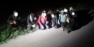Homorúdon fogtak el egy migránscsapatot éjjel
