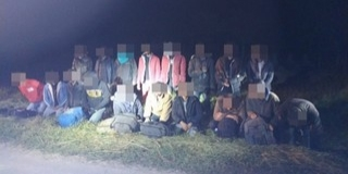 Migránsokat fogtak el a rendőrök a Mohácsi-szigeten éjjel