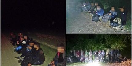 Több tucat migránst tartóztattak fel a Mohácsi-szigeten