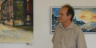 Richter Gábor festőművész Németországban is büszke mohácsi gyökereire