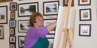 Katona Mária - A mohácsi festőművész, aki akkor boldog, ha képei örömet szereznek