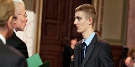 Az egyetemistáknak adható legmagasabb tudományos díjat kapta meg Schuth Gábor