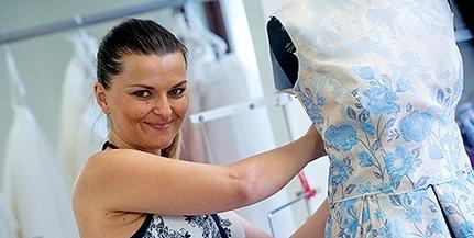 Mások álmát álmodja, és a királynők ruháit (is) varrja Bélavári Zita, mohácsi divattervező