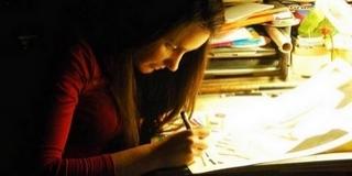 Aki rajzban mondja el: fényes jövő várhat a fiatal mohácsi tehetségre, Kalkán Dórára