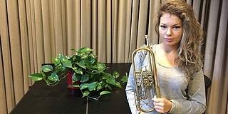 Hatott a Dobos-módszer: a trombitás Mausz Erzsébet már Essenben fújja, nem is akárhogy