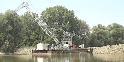 A mohácsi zátony mintájára teszik rendbe a Bezerédi Duna-ágat a szomszédban