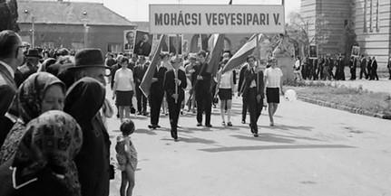 Nézze meg, hogy ünnepelték Mohácson az elmúlt évtizedekben május elsejét - Tunás mozija
