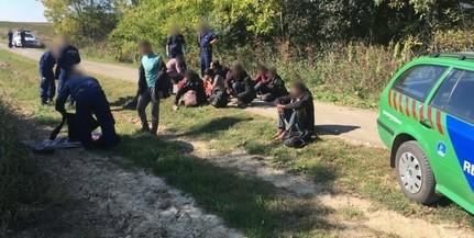 Ismét jogellenesen próbált meg bejutni Magyarországra több illegális migráns