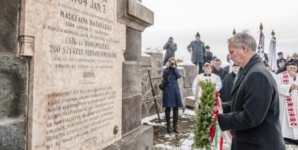 A madéfalvi székelymészárlásra emlékeznek szombaton