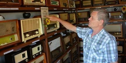 Rádiómúzeum: már körülbelül ötszáz készüléket jegyez a lánycsóki Kálmán Tamás és felesége